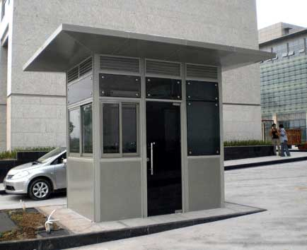 北京岗亭生产厂家 不锈钢岗亭